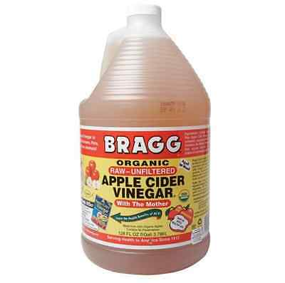 Bragg Organic Apple Cider Vinegar 3.78L - with The Mother, Raw & Unfiltered