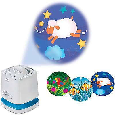 Munchkin Nursery Projector Night Light Sound Soother for Put Baby to Sleep Time