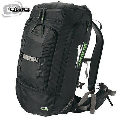 Arctic Cat OGIO Cornice Snowmobile Mountain Backpack Bag - Black - 6639-445