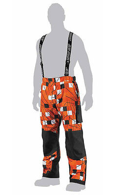 Arctic Cat Men's Freezone Snowmobile Shell Pants - Orange / Black - 5250-44_