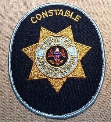 MS Mississippi State Constable Patch