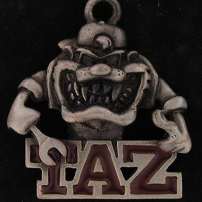 CHARM Taz Devil WARNER BROS LOONEY TUNES WB STORE Pewter MECHANIC WRENCH 5334