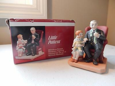 """Norman Rockwell - Little Patient - Style MN23 Museum Miniatures  (3.5"""" tall)"""