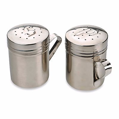 Large Handle Salt Pepper Shakers Set Home Kitchen Pantry Counter Stovetop Tool