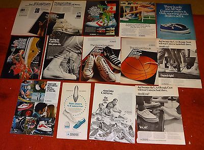 14 CONVERSE vintage running shoe AD ADS  A27 fashion