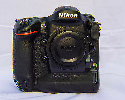 Nikon D4 16.2MP Digital SLR Camera - Black (Body Only)