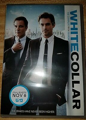 New/Sealed White Collar: The Complete Fifth Season (DVD, 2014, 4-Disc Set)