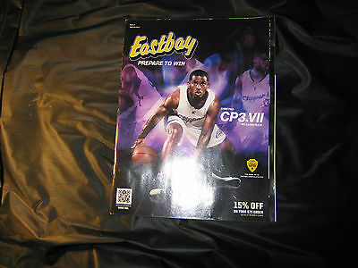 Eastbay Catalog Featuring Chris Paul Guard Los Angeles Clippers September 2013