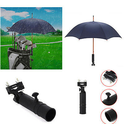 Angle Golf Umbrella Holder Stand For Buggy Cart Baby Pram Wheelchair Adjustable