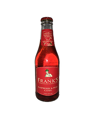 Franks Raspberry Pear Cider 330mL case of 24