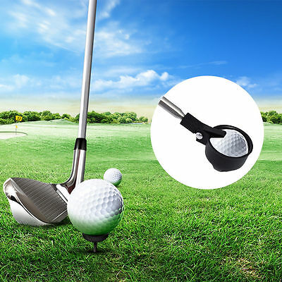 Retractable Scoop Telescopic Golf Ball Retriever Pick Up Steel Saver Shaft 2M