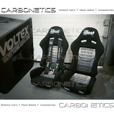 Bride Stradia II Low Max illest Style Racing Seat Bride Center Writing
