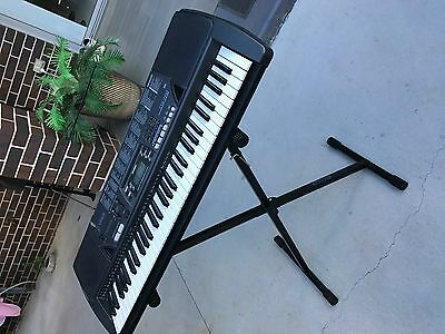 Casio Piano (Includes stand and 5 AA batteries)