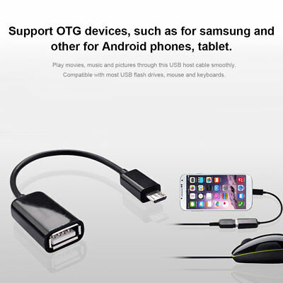 Micro USB OTG Adapter Cable USB OTG Cable Converter Data Cable For Phone YF