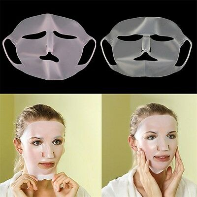 Women Lady Silicone Facial Mask Perfect Use Of Mask No Nutrition Waste YF