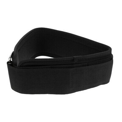 Weight Lifting Belt Fitness Back Support for Squats Thrusters Black Belts S