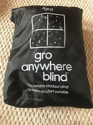 Gro Anywhere Blackout Blind Used Once!