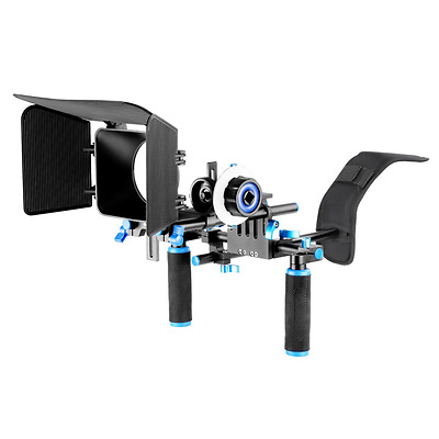 Neewer DSLR Rig Set Movie Kit Film Making System, include Shoulder Mount Follow