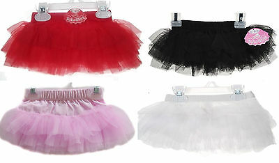 Girls Baby Tutu Spanish Organza Frilly Party Skirt Soft Tulle