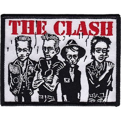 The Clash - Band Caricature - Embroidered Patch - Brand New - Music 4253