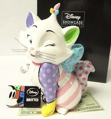Brand New in Box, Disney's Marie Cat from Aristocats, Romero Britto Collection!!