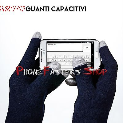 GUANTI CAPACITIVI cellulare SMARTPHONE TABLET IPHONE IPAD INVERNO TOUCH SCREEN