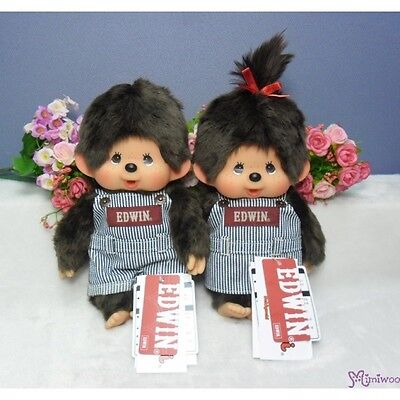 Edwin x Monchhichi Ver 2 Japan Limited M Size MCC Plush Overall Jeans (PAIR)