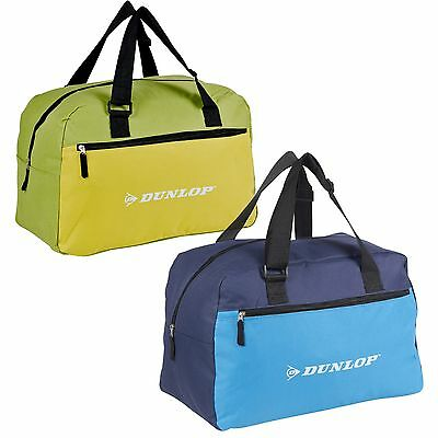 Dunlop Sports Gym Duffel Bag Lightweight Travel Holdall Luggage Training Outdoor