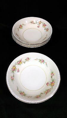 (4) Vintage Homer Laughlin Eggshell Georgian Countess Fruit Berry Dessert Bowls