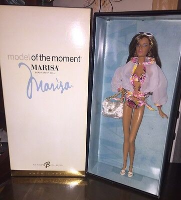 Barbie Collector Model Of The Moment Marisa Beach Baby Gold Label Nrfb