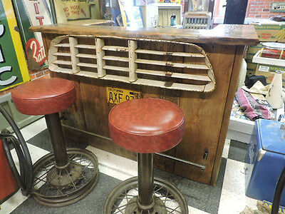 1955-57 Chevy truck themed bar and stools