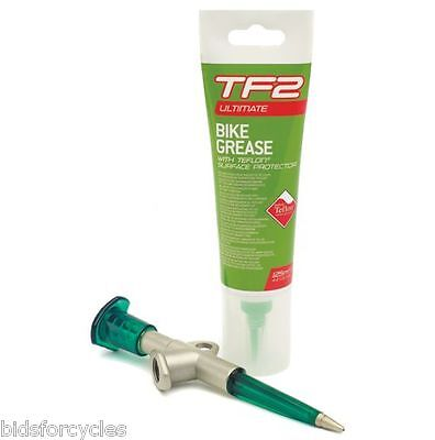 WELDTITE TF2 LUBRICANT BIKE BICYCLE GREASE AND GREASE GUN - 125ml CHAIN CRANK