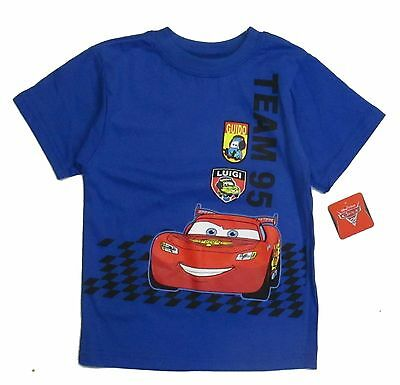 Disney Car 24 Months Infant Boys Graphic Character t Tee Shirt Short Sleeve Nwt