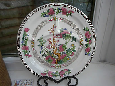 Vintage Booths Indian Tree pattern grill serving cake plate, divided