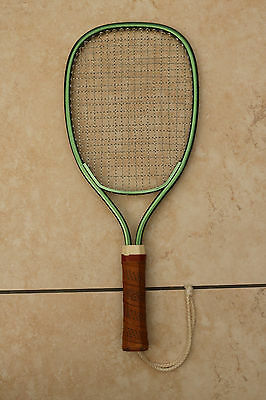 Racquetball Racket, Metal Frame, Unbranded - Pristine Condition