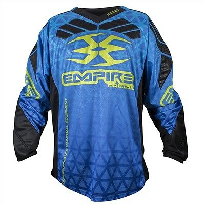 Empire Prevail F6 Jersey Blue - XXX-Large - Paintball