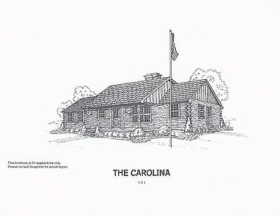Log Cabin Log Home Kit The Carolina from American Log Homes