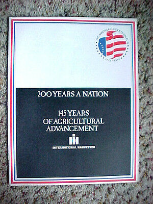 International Harvester,  200 Years A Nation