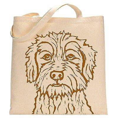 Terrier Mix named Lamby Tote Bag