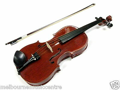 """STENTOR 16"""" VIOLA PACK All Solid Body *w/Kojicitzer Wood Bow, Case & Rosin* NEW!"""