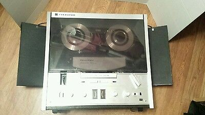 Vintage Panasonic RS-7905 reel to reel tape player recorder untesed powers up