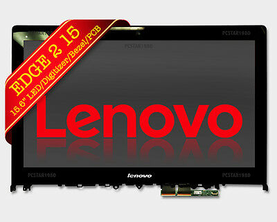 """Lp156Wf6(Sp)(K1) Lenovo Edge 2-1580 15.6"""" New Touch Lcd Led Screen Assembly Fast"""