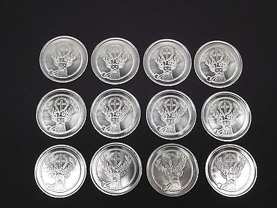 Vtg JAGERMEISTER SO SMOOTH Coin Token Lot Of 12 Advertising Free S/H