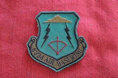 USAF PATCH - 633rd AIR BASE WING SUBDUED JBLE JOINT BASE LANGLEY-EUSTIS VIRGINIA