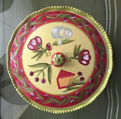 Temp-tations Casserole oven ware, bright colors for decor & practical for oven.