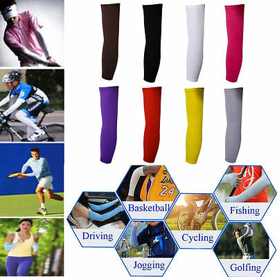 1Pair Arm Warmers Armlinge Sleeves UV Sun Basketball Sonnenschutz Protection