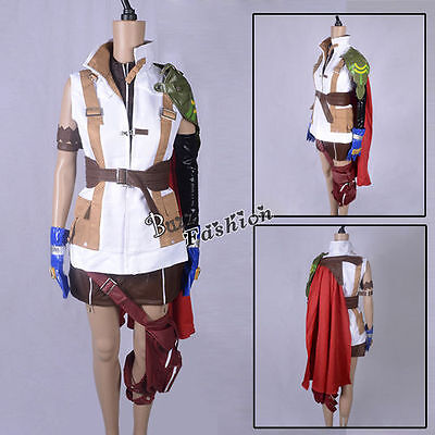 Anime Lightning Uniform Cosplay Party Costume Halloween Dress Complete Outfit