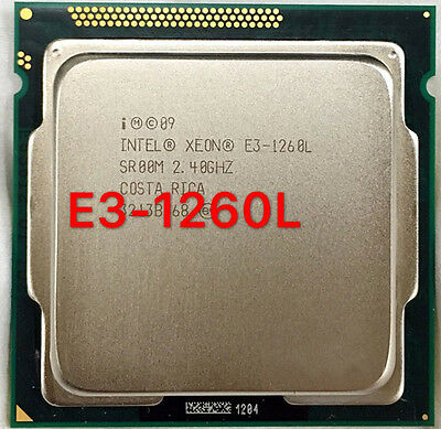 Intel Xeon E3-1260L 2.40Ghz Quad-Core LGA1155 8MB 45W Processor SR00M