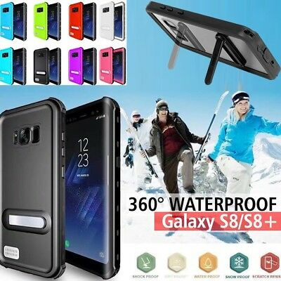 Waterproof Dirtproof Shockproof Clear Tough Case Cover For Samsung Galaxy S8/S9+