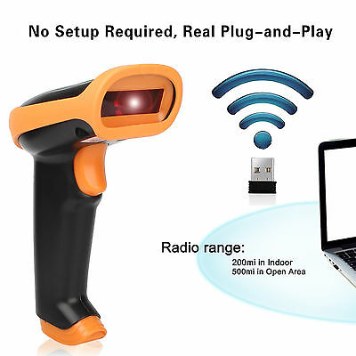 Wireless Bluetooth 4.0 Barcode Scanner Reader For Apple IOS Android Windows 7/8